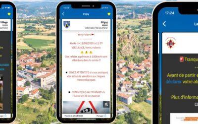 La mairie de Barbaira se rapproche de vous grâce à l'application mobile PanneauPocket.